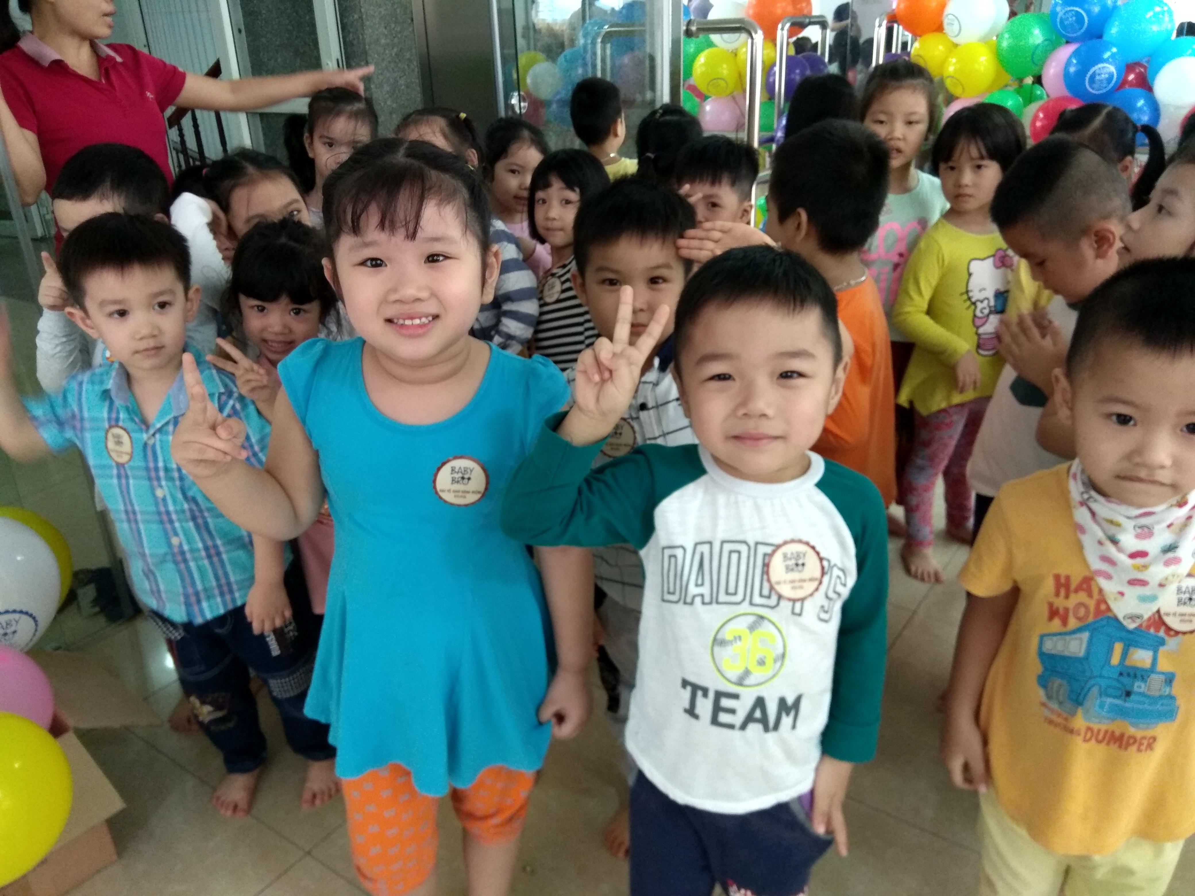 Ngăn chặn sâu răng sớm cho các bé Trường mầm non Ngôi Sao Xanh