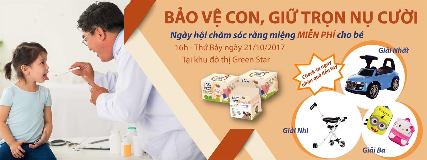 """CÙNG CƯ DÂN KĐT GREEN STAR """"BẢO VỆ CON, GIỮ TRỌN NỤ CƯỜI"""""""