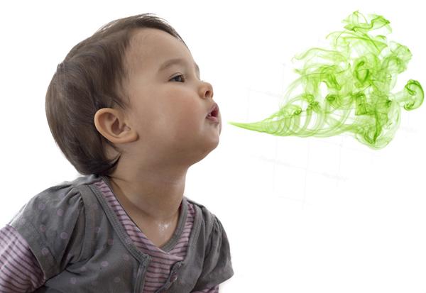Hôi miệng, lười ăn do không tưa miệng cho trẻ