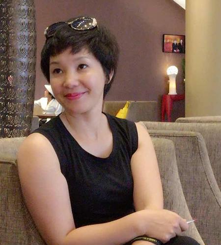 Chị Trần Thị Thanh Bình - Quản lý trường Mầm non Lâm Hoa, Hà Nội.